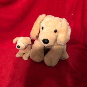 Yellow Lab Build a Bear Mom And her pup.